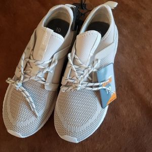 NWT memory foam slip on sneakers